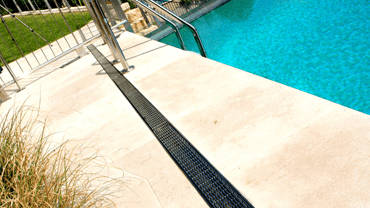 Pool Deck Drainage | Trench Drain Systems