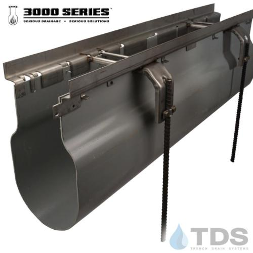 3000 Channel Stainless Steel frame