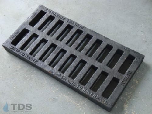 GF21224 Slotted Cast Iron Grate