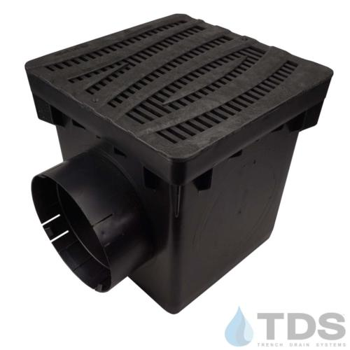 NDS-2outlet-catch-basin-6in-outlets-blk-wave-grate-TDSdrains