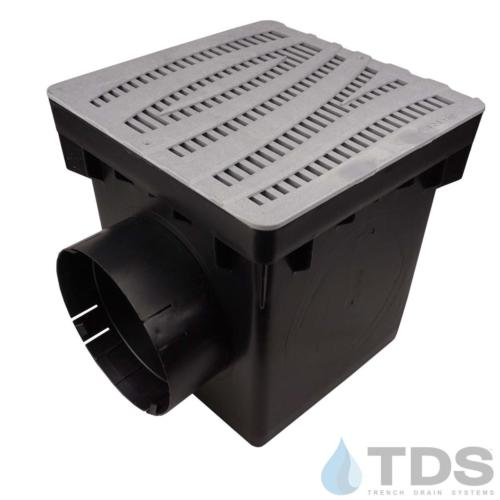 NDS-2outlet-catch-basin-6in-outlets-grey-wave4-grate-TDSdrains