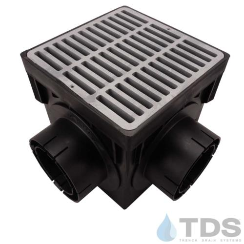 NDS-4outlet-catch-basin-4in-outlets-grey-slotted-grate-TDSdrains