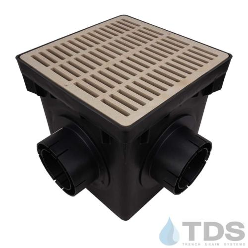 NDS-4outlet-catch-basin-4in-outlets-sand-slotted-grate-TDSdrains