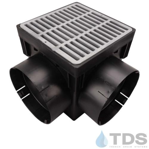 NDS-4outlet-catch-basin-6in-outlets-gry-slotted-grate-TDSdrains