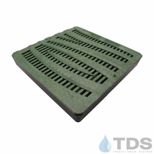 NDS-lowProfile-12-catch-basin-grn-wave-grate-TDSdrains