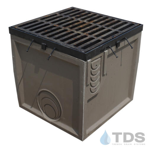 Poly-653SB-DG0635D-24x24-CatchBasin-TDS