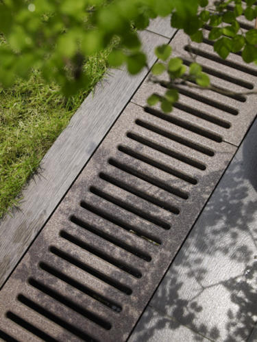 Jonite trench drain system grates